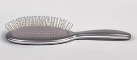 Framar Metallic Silver Detangle Brush