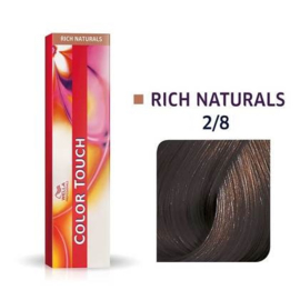 Wella Color Touch - Rich Naturals -  2/8  - 60 ml