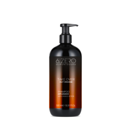 1 + 1 Gratis! 6.Zero Take Over Out Orange - Shampoo - 500 ml