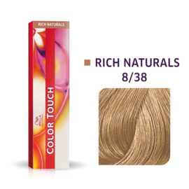 Wella Color Touch - Rich Naturals - 8/38 - 60 ml