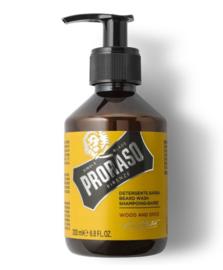 Proraso Wood and Spice Beard Wash - 200 ml