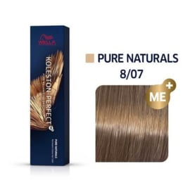 Wella Koleston Perfect ME+ - Pure Naturals - 8/07 - 60 ml