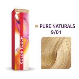 Wella Color Touch - Pure Naturals -  9/01  - 60 ml