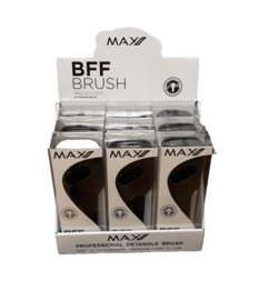 Max Pro BFF Borstel Large Black - display met 9 borstels