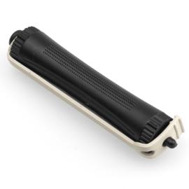 Permanentroller 80 mm Zwart - 19 mm - 12 stuks