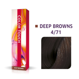 Wella Color Touch - Deep Browns -  4/71  - 60 ml