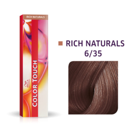 Wella Color Touch - Rich Naturals -  6/35  - 60 ml