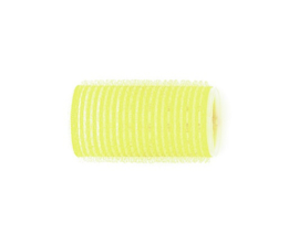Zelfklevende rollers Sibel - 32 mm - Geel - 12 stuks