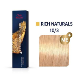 Wella Koleston Perfect ME+ - Rich Naturals - 10/3 - 60 ml