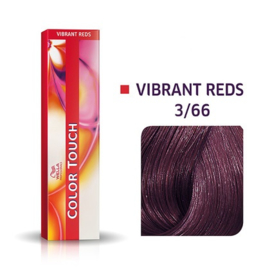 Wella Color Touch - Vibrant Reds -  3/66  - 60 ml