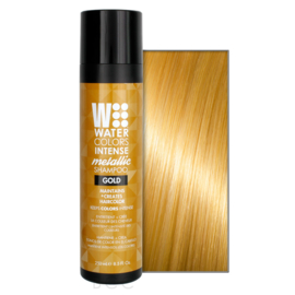Watercolors Intense Metallic Shampoo - Gold - 250 ml
