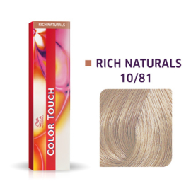 Wella Color Touch - Rich Naturals -  10/81 - 60 ml