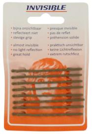 Invisible Schuifspeldjes Blond Lang 6,5 cm - 1 kaartje à 8 stuks