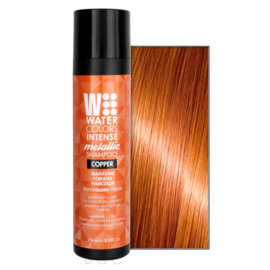 Watercolors Intense Metallic Shampoo - Copper - 250 ml