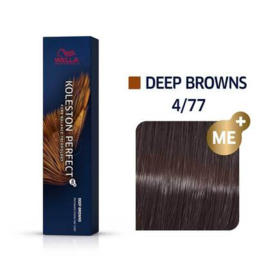 Wella Koleston Perfect ME+ - Deep Browns - 4/77 - 60 ml