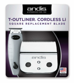 Snijmes Andis T-Outliner Cordless Li - Square Blade - #04545