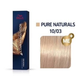Wella Koleston Perfect ME+ - Pure Naturals - 10/03 - 60 ml