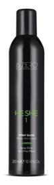 6.Zero He.She 1 Spray Gloss - Shining - 300 ml