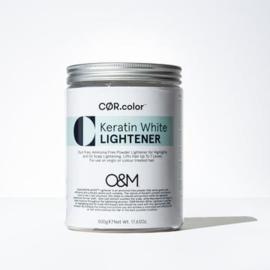 O&M Keratin White Lightener - 500 gr