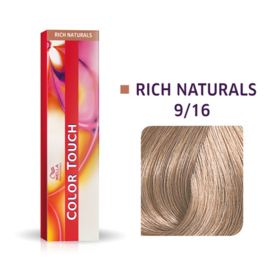 Wella Color Touch - Rich Naturals -  9/16  - 60 ml