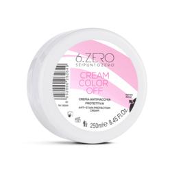 6.Zero Cream Color Off - Beschermende Antivlekkencrème - 250 ml