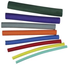Mousse shapers 18 cm - Geel - 10 mm - 12 stuks