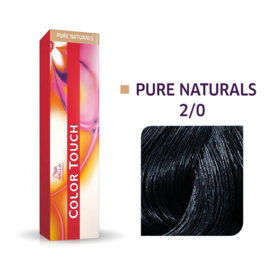 Wella Color Touch - Pure Naturals -  2/0  - 60 ml