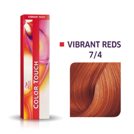 Wella Color Touch - Vibrant Reds -  7/4  - 60 ml