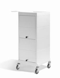 Werkwagen Sibel - Discrete/Lock - Crèmewit