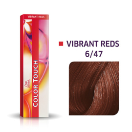 Wella Color Touch - Vibrant Reds - 6/47 - 60 ml