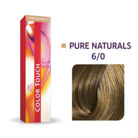 Wella Color Touch - Pure Naturals -  6/0  - 60 ml