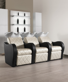 Wash Unit Salon Ambience Luxury+ - 3 seater