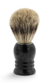 Scheerkwast Marmer - Zwart