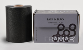 Framar Back In Black Medium Embossed Roll - 100 m