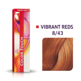 Wella Color Touch - Vibrant Reds -  8/43  - 60 ml