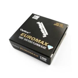 Euromax Enkelzijdige Scheermesjes - 100 stuks