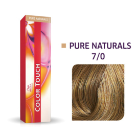 Wella Color Touch - Pure Naturals -  7/0  - 60 ml