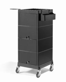 Werkwagen Sibel - Discrete/Lock - Zwart
