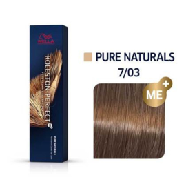 Wella Koleston Perfect ME+ - Pure Naturals - 7/03 - 60 ml