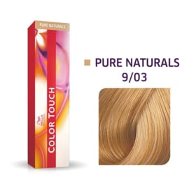 Wella Color Touch - Pure Naturals -  9/03  - 60 ml