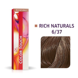 Wella Color Touch - Rich Naturals -  6/37  - 60 ml
