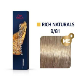 Wella Koleston Perfect ME+ - Rich Naturals - 9/81 - 60 ml