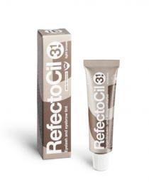 RefectoCil Wimper- en wenkbrauwverf Nr. 3.1 Lichtbruin - 15 ml