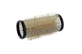 Metalen rollers 65 mm lang - 28 mm - Zwart - 12 stuks