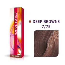 Wella Color Touch - Deep Browns -  7/75  - 60 ml