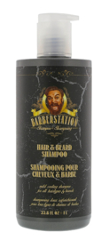 Barberstation Hair & Beard Shampoo - 1.000 ml