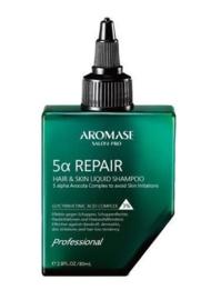 Aromase Salon-Pro 5α Repair Shampoo voor haar en huid - 80 ml