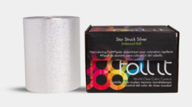 Framar Star Struck Silver Medium Embossed Roll - 100 m