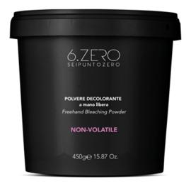 6.Zero Freehand Blondeerpoeder - 450 gr