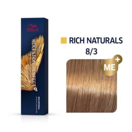 Wella Koleston Perfect ME+ - Rich Naturals - 8/3 - 60 ml